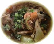秋のかほりのつけ麺